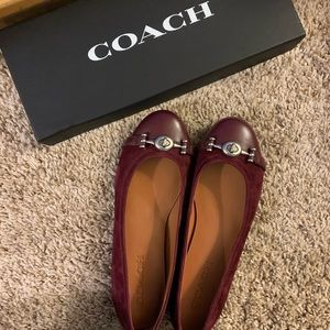 Never Worn Coach Flats, Size 6.5 B